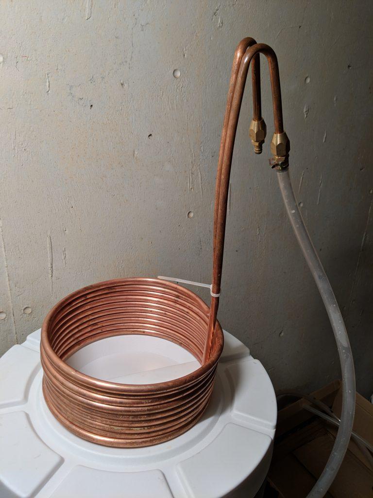 Serpentin en cuivre