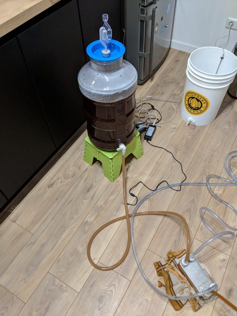 Refroidissement à l'aide d'un refroidisseur à plaques